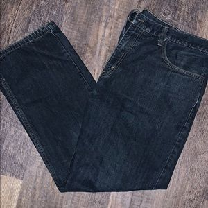 MEN'S 559™ RELAXED STRAIGHT JEANS 38x30 dark wash